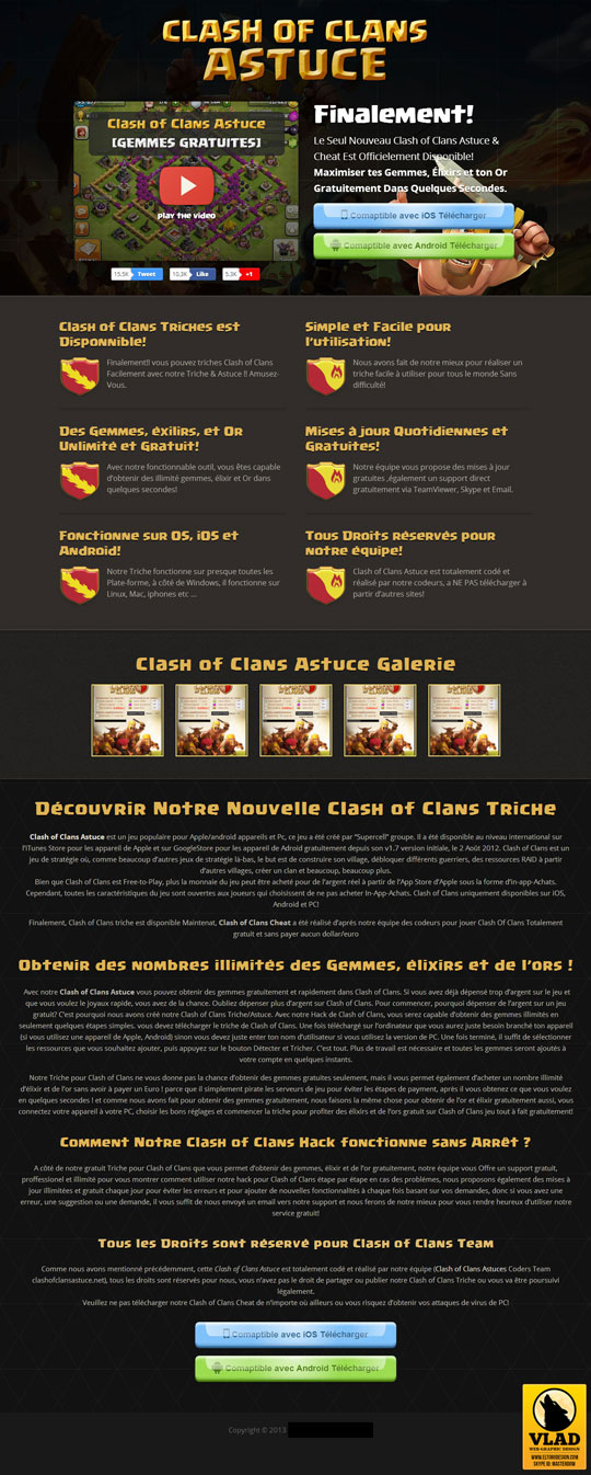 Clash Of-Clans - Landing Page 2