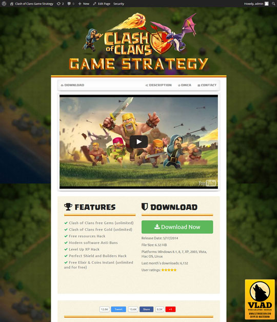 Candy Crush Saga - Landing Page 4